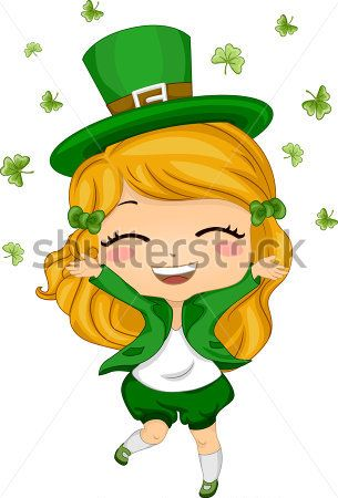 Image result for female leprechaun.