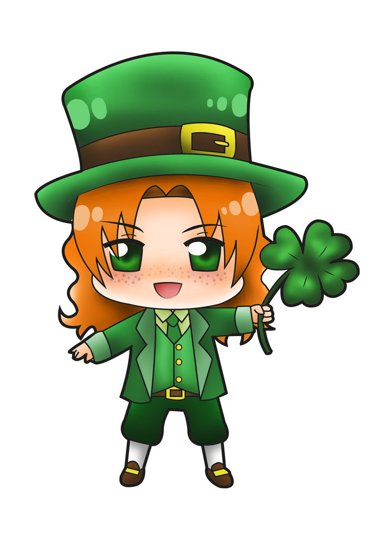 Female Leprechaun Image.