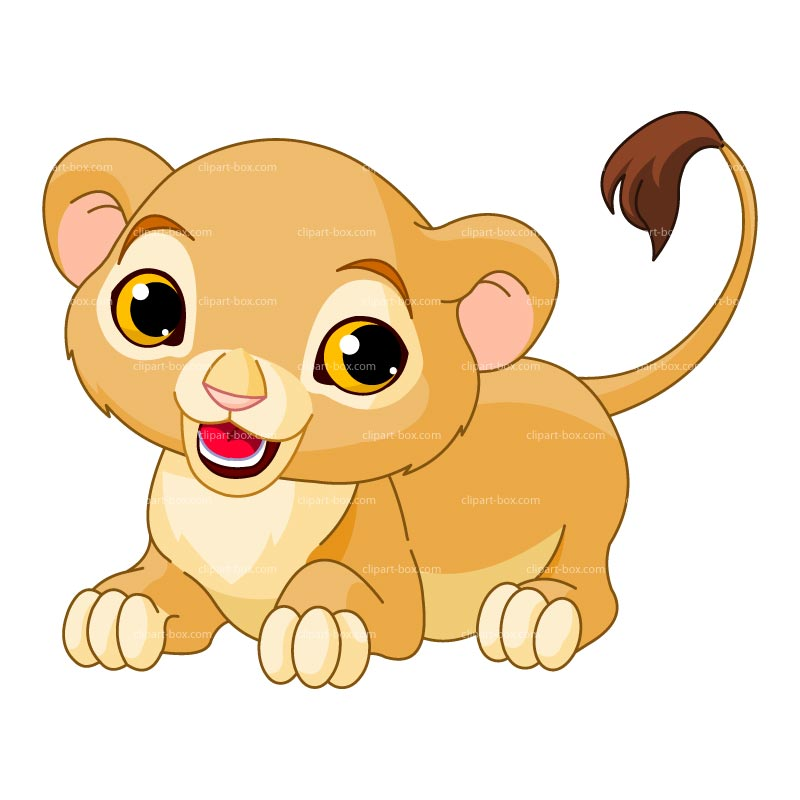 Free Female Lion Clipart.
