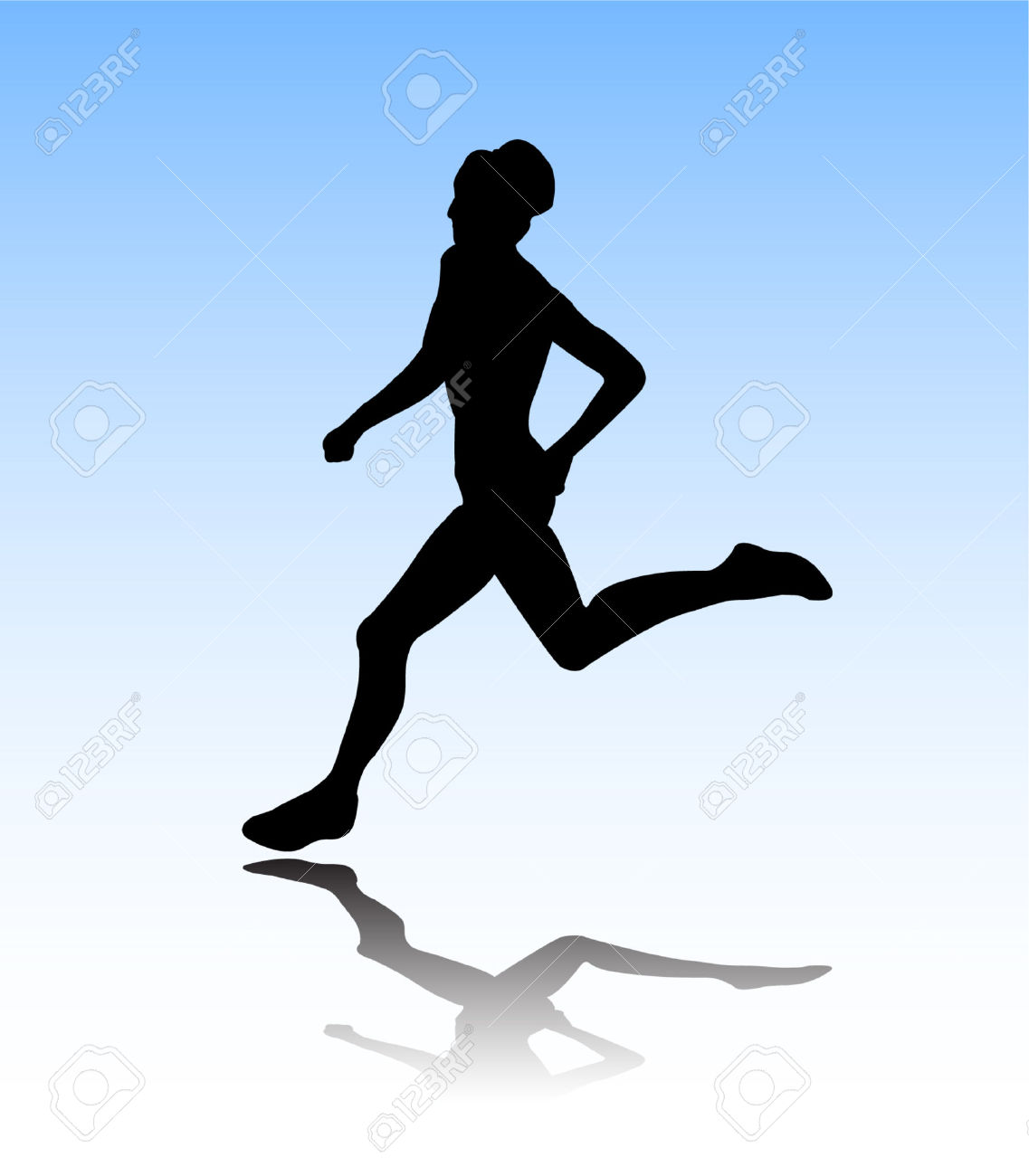 Similiar Women Jogging Silhouette Keywords.