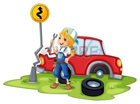 772 Female Mechanic Stock Illustrations, Cliparts And Royalty Free.