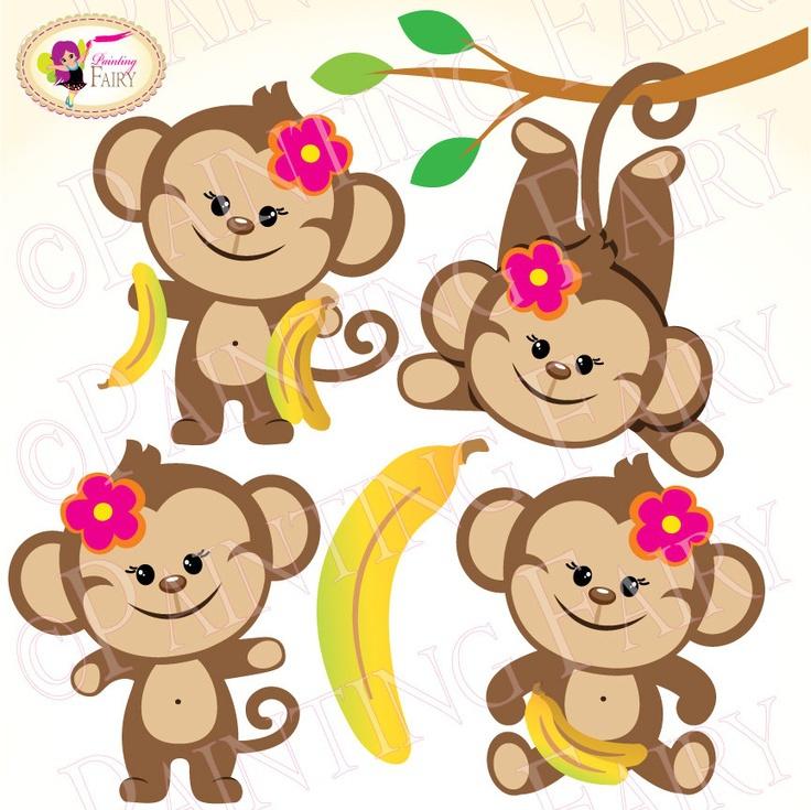 Female Monkey Clipart#1888279.