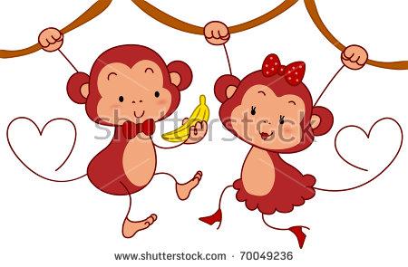 Female Monkey Stock Vectors, Images & Vector Art.