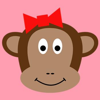 Love Monkeys Clip Art.