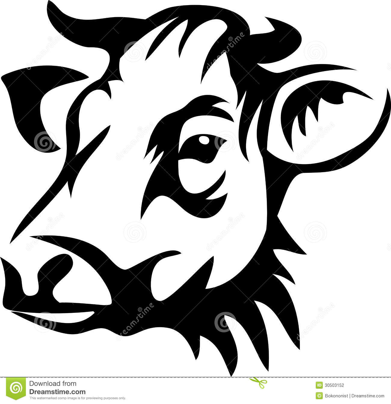 Female Cow Clipart.