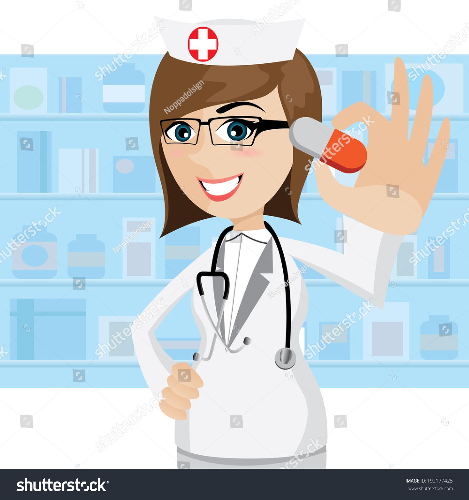 Female pharmacist clipart 10 » Clipart Station.