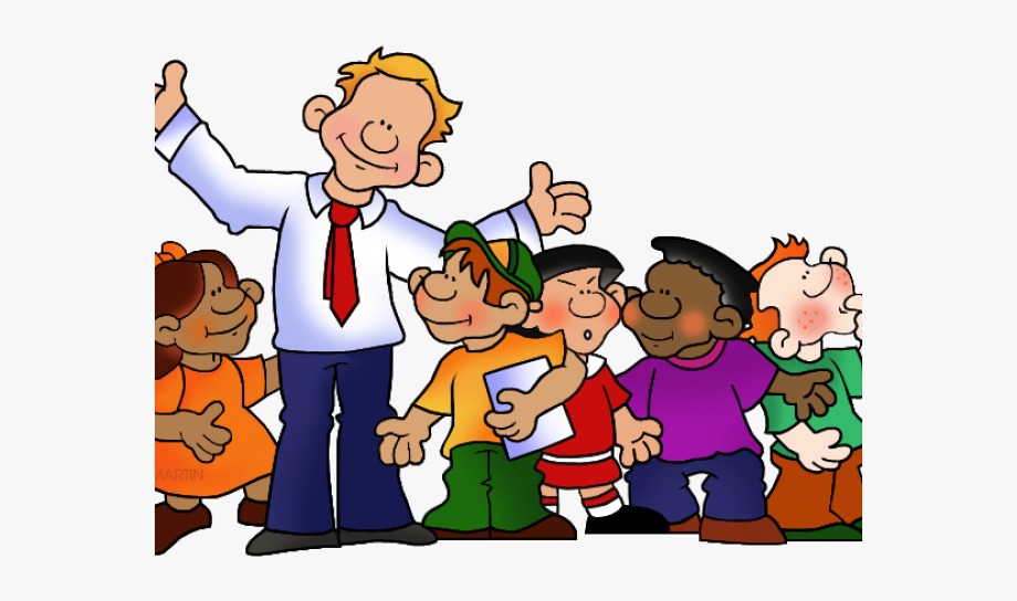 Principal And Student Clip Art , Transparent Cartoon, Free.