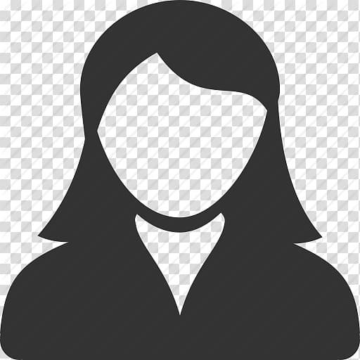 Female profile avatar illustration, Computer Icons Female.