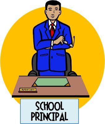 School Principal Clipart.