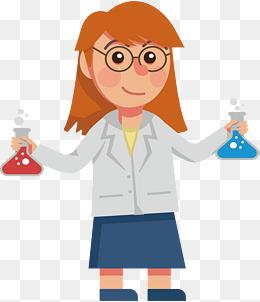 PNG Female Scientist Transparent Female Scientist.PNG Images..