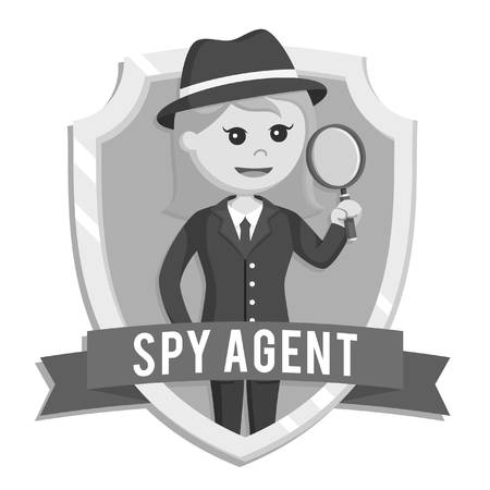 176 Female Secret Agent Stock Illustrations, Cliparts And Royalty.