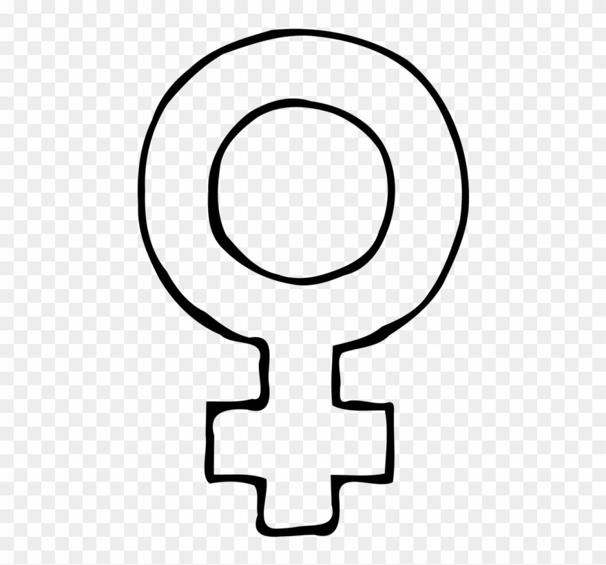Female Gender Symbol Woman.