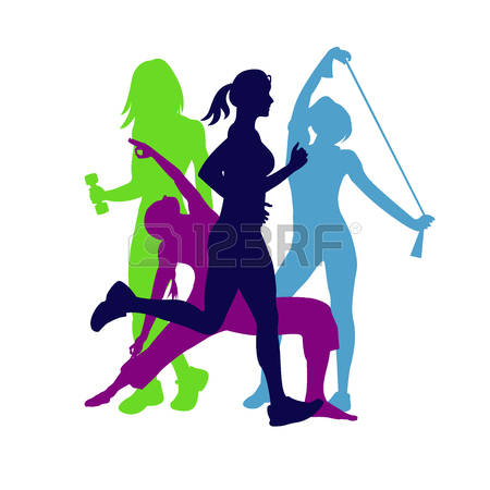 108,612 Sport Woman Stock Vector Illustration And Royalty Free.