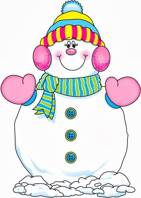 Lady snowman clipart 2 » Clipart Station.