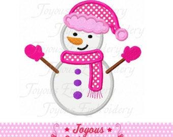 Girl snowman.