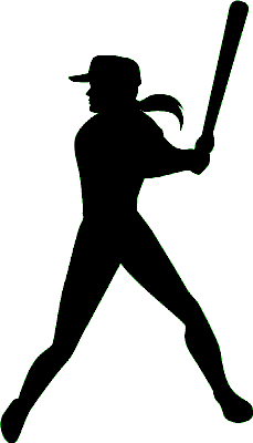 Girl softball player clipart clipart images gallery for free.