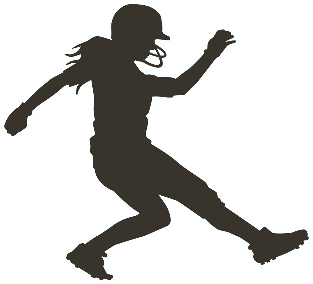 2642 Softball free clipart.