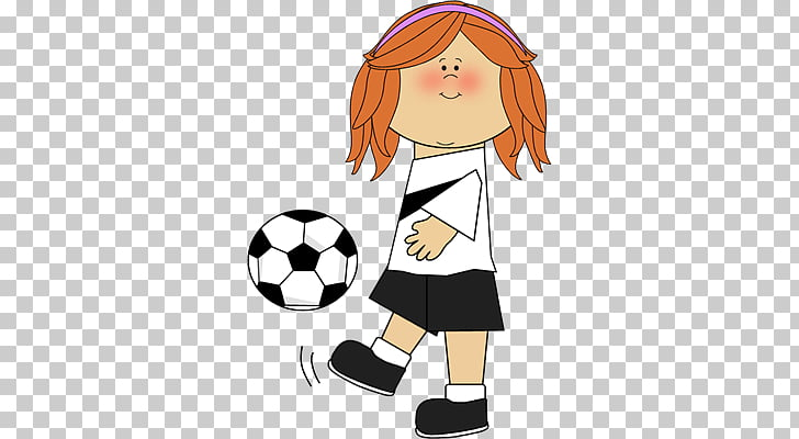 Football Play Girl , female sports s PNG clipart.