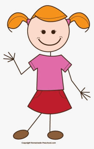 Girl Stick Figure PNG Images.