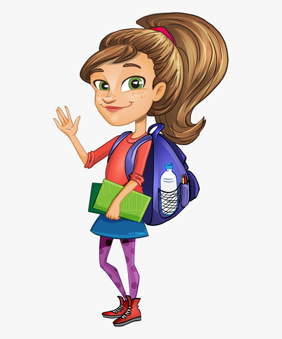 Female Vector Student.