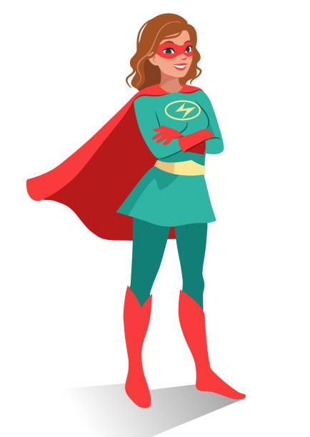 Best Super Hero Woman Illustrations, Royalty.