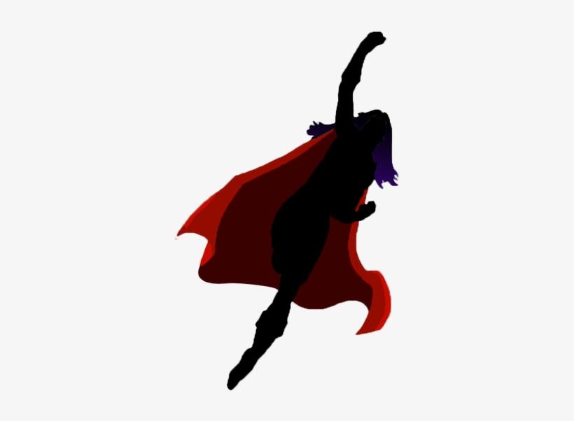 Supergirl Silhouette.