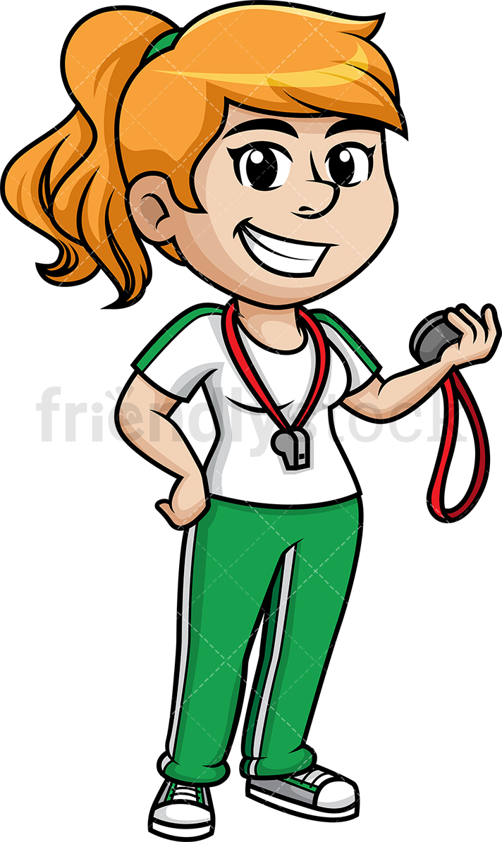 Female Gym Teacher.
