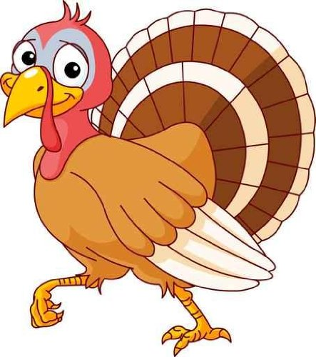 Girl Turkey Clipart.