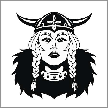 4,462 Warrior Woman Stock Vector Illustration And Royalty Free.