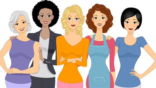 Females clipart.