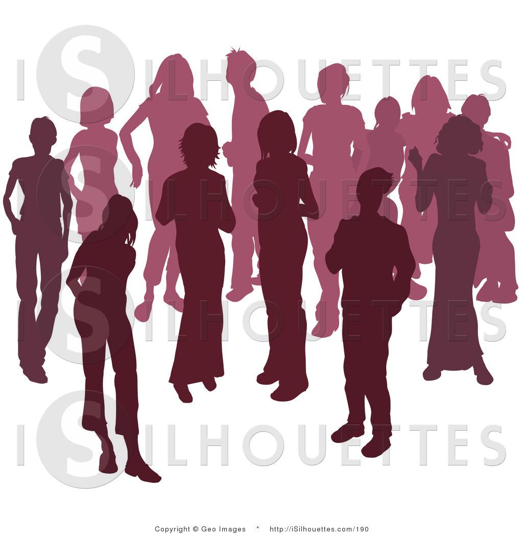 Women's Diverse Groups Clipart.