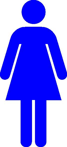 Clip Art Woman Symbol Clipart.