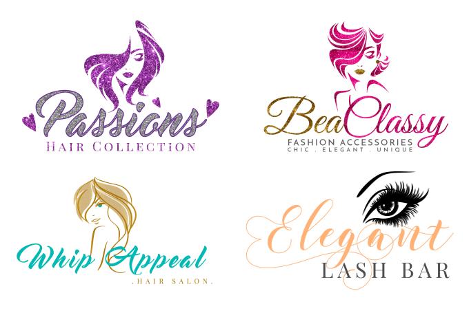 design feminine logo for you.