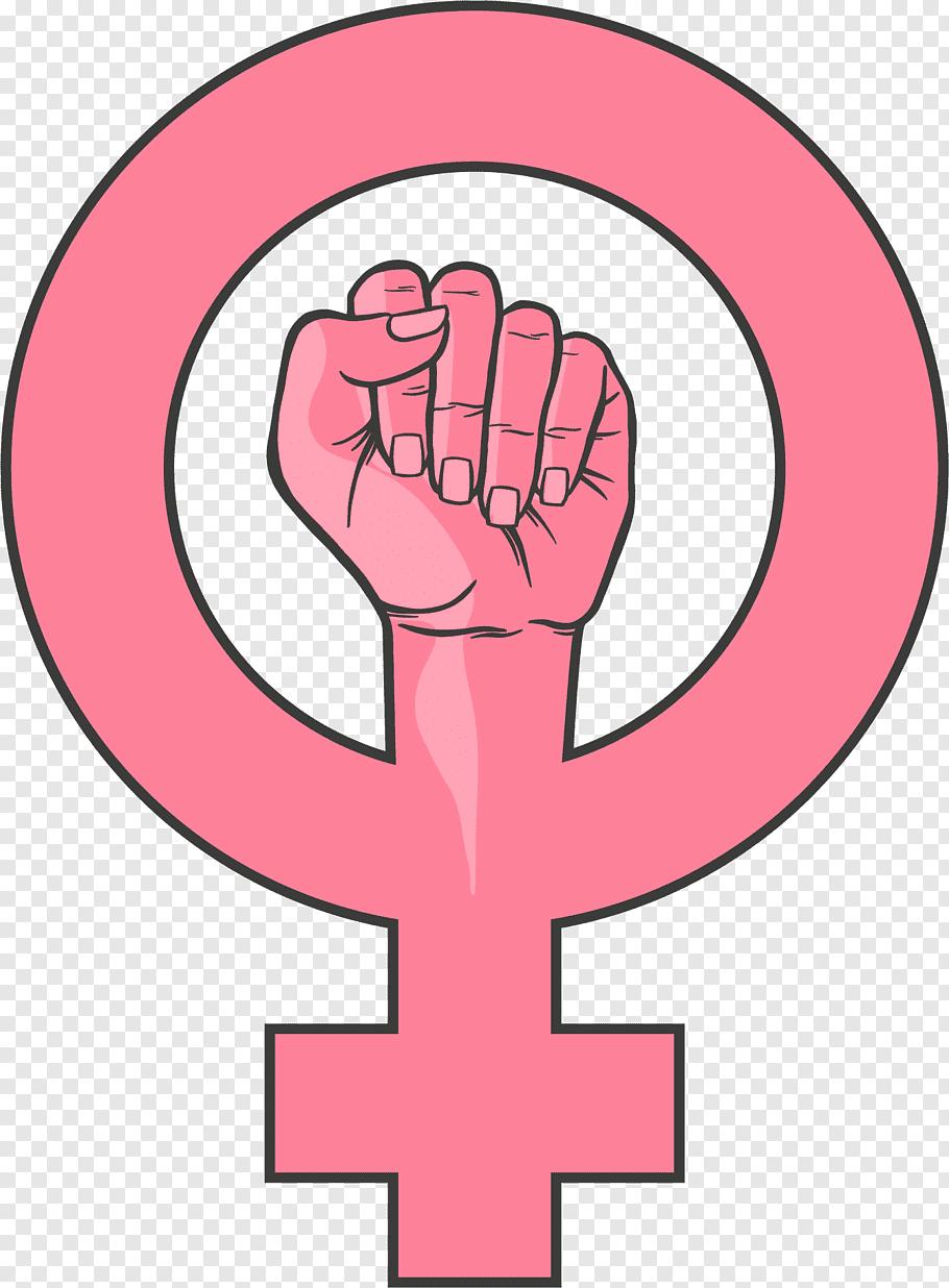 Female logo illustration, Female Woman Feminism Gender.