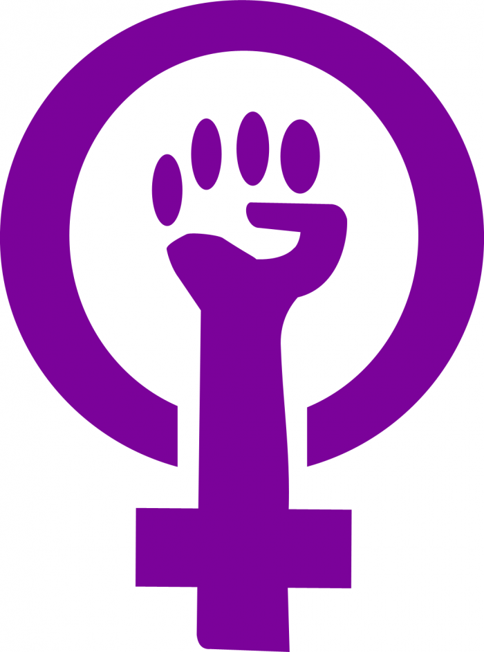 Simbolo Do Feminismo Png Vector, Clipart, PSD.