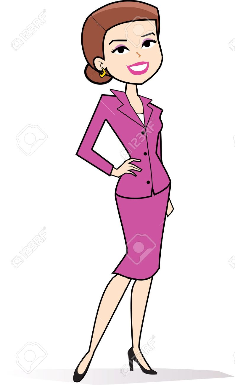 Clip art lady standing clipground - Cartoon girl images hd ...