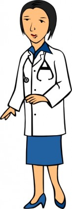 Black Doctor Clipart.