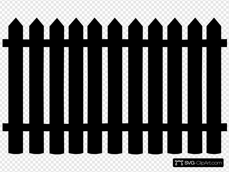 Fence Clip art, Icon and SVG.