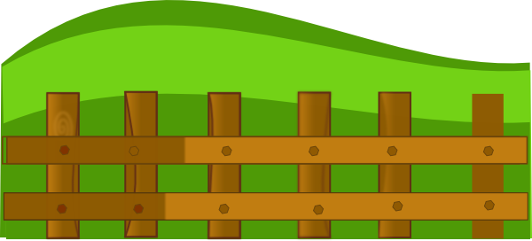 Fence clipart - Clipground