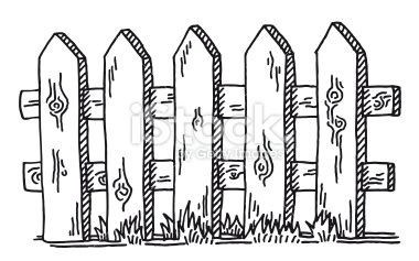 Farm fence clipart black and white 5 » Clipart Portal.