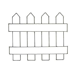 House With Picket Fence Clipart (66+).