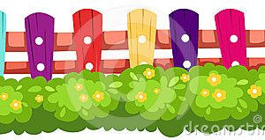 Fence border clipart 2 » Clipart Station.