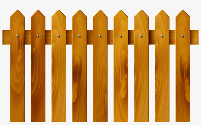 Wooden Fence Fence Clipart.