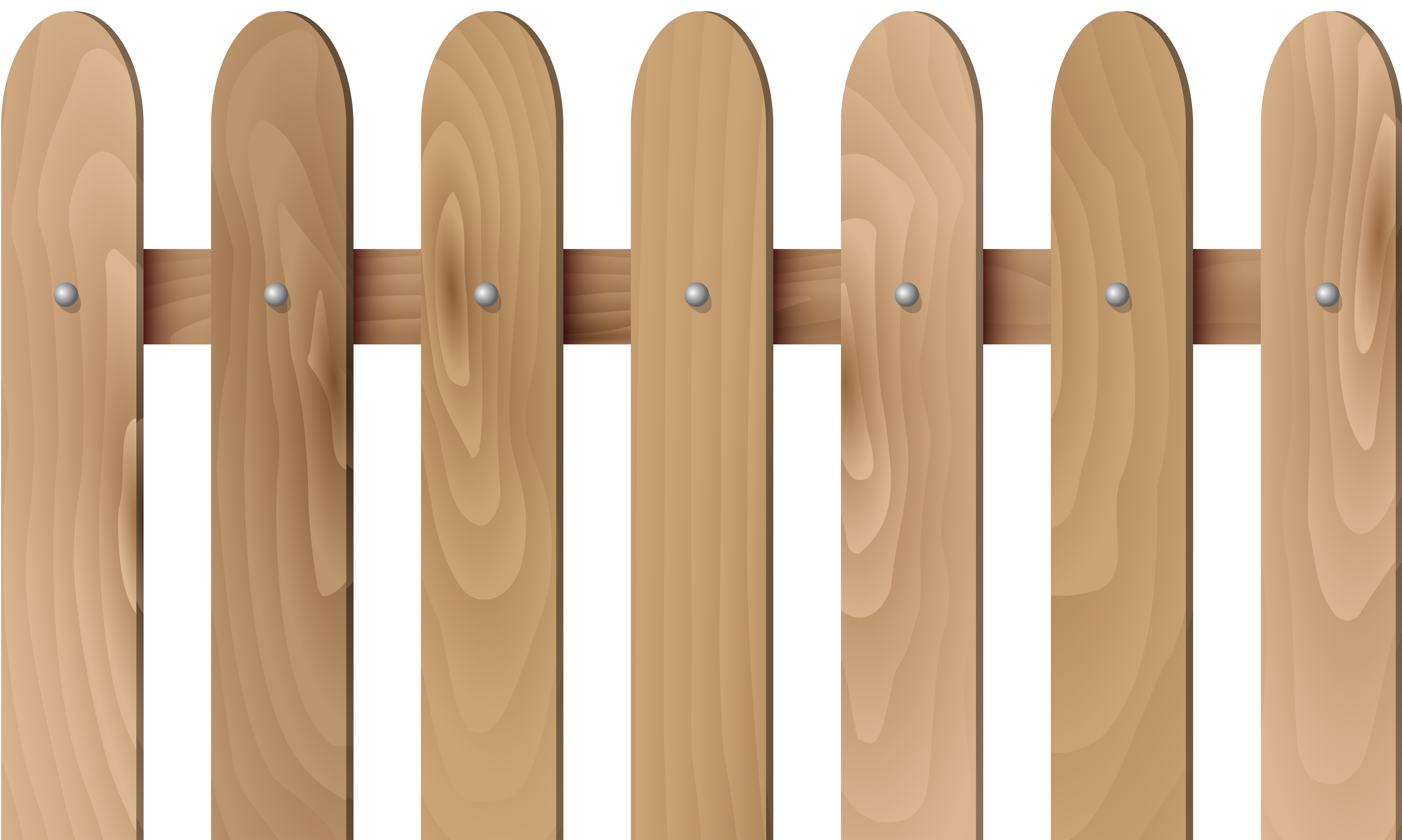 Picket fence Wood Clip art.