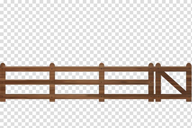 Brown fence , Picket fence Split.