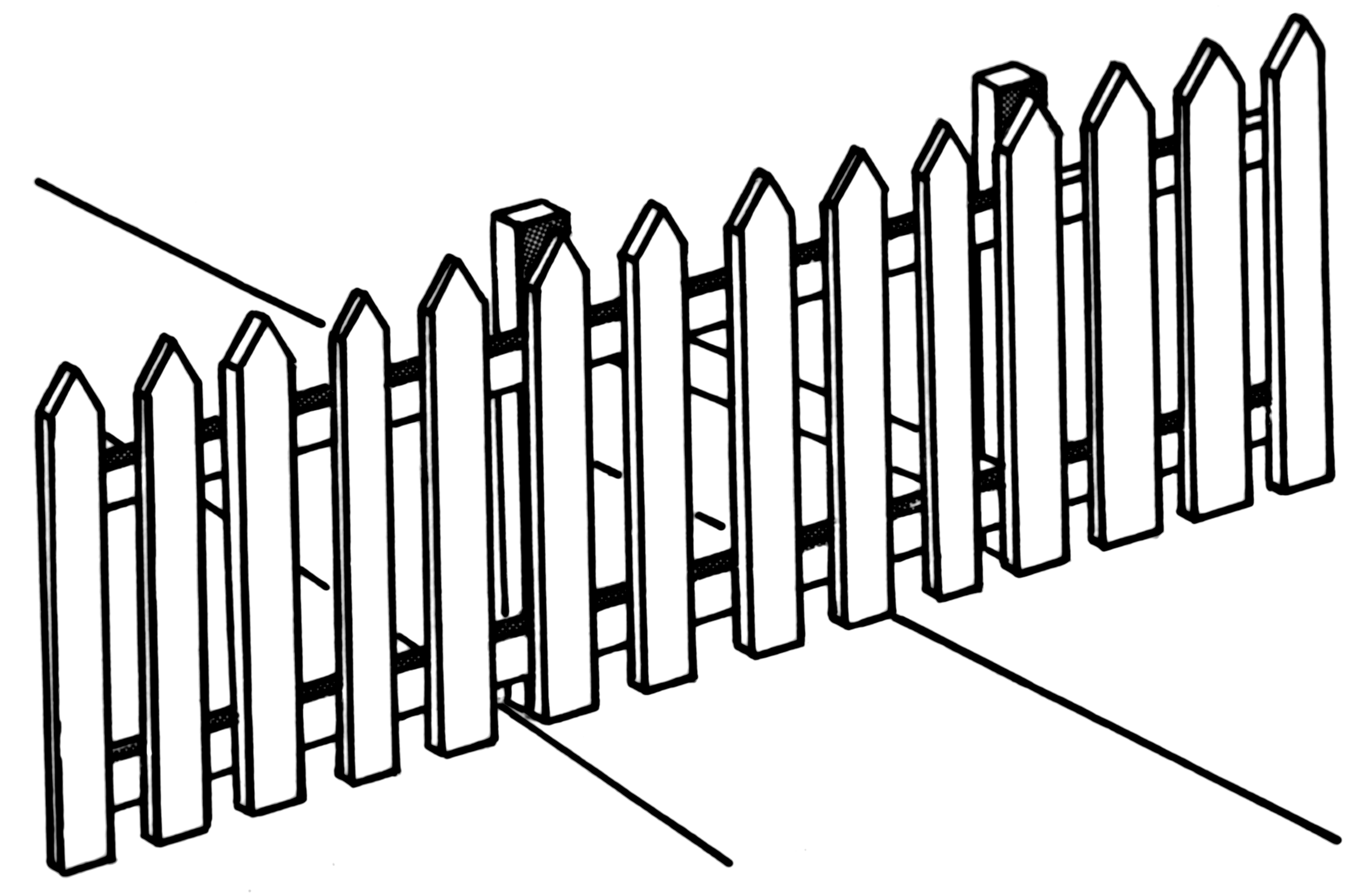 Picket Fence.