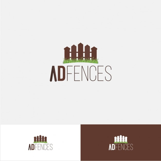 AD Fences Logo.