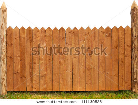 Wooden Fence Stock Images, Royalty.