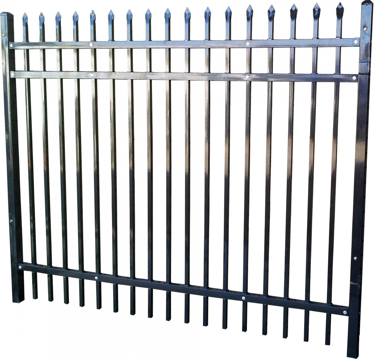 Steel Fence Panel.