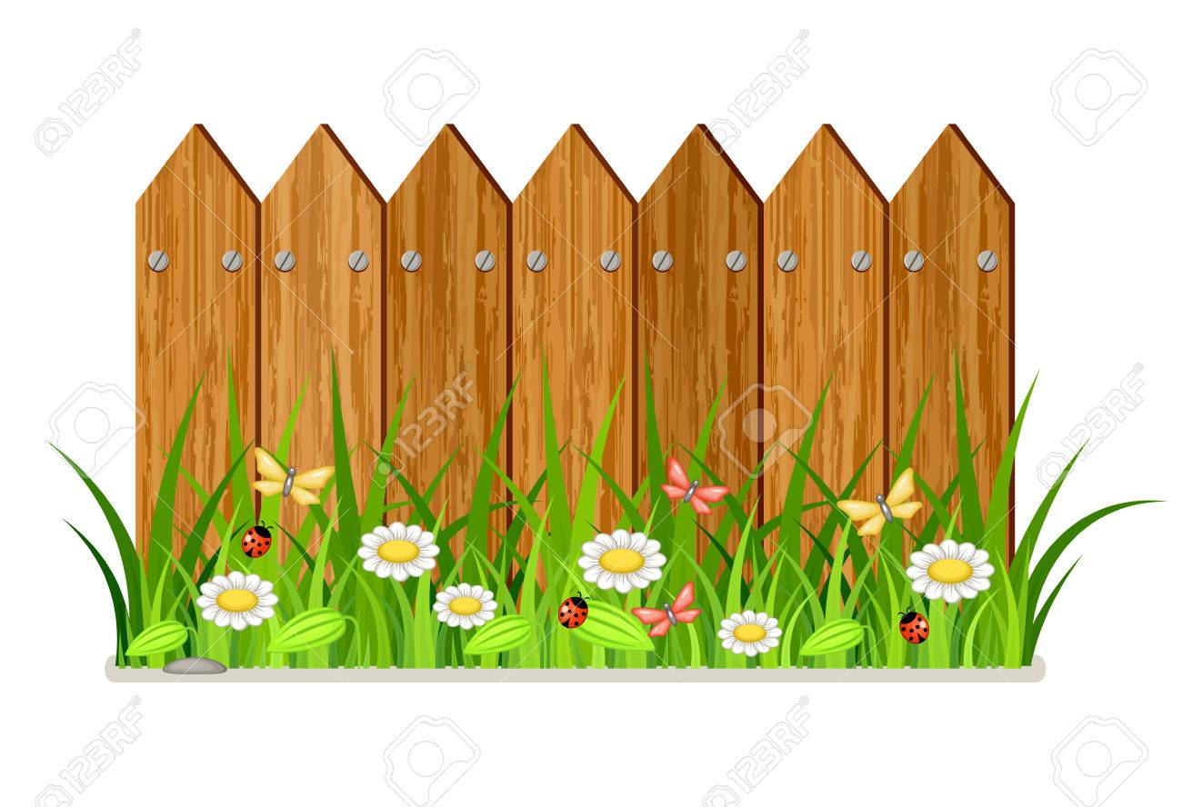 Wooden fence » Clipart Station.